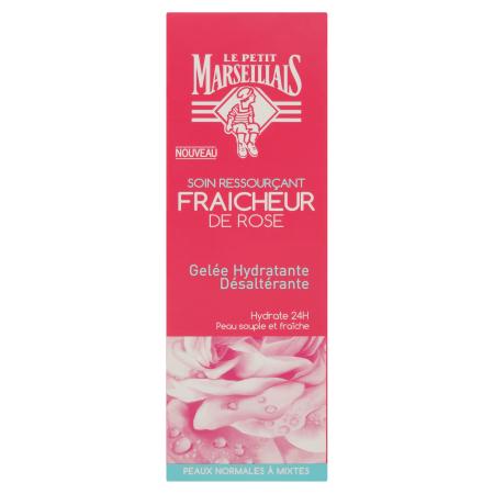 Gelée Hydratante Désaltérante Fraîcheur de Rose