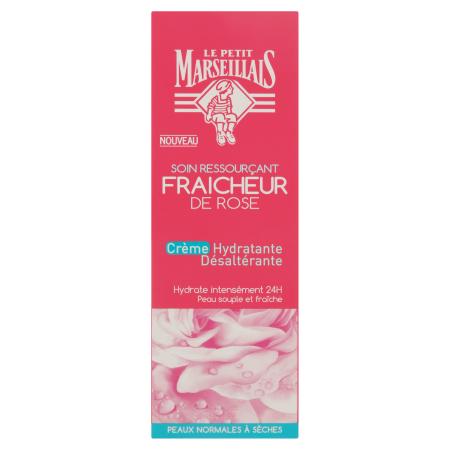 Crème Hydratante Désaltérante Fraîcheur de Rose