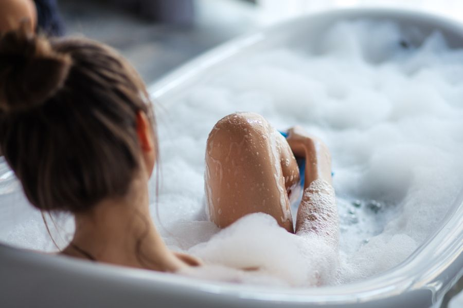 Prendre soin de sa peau sous la douche