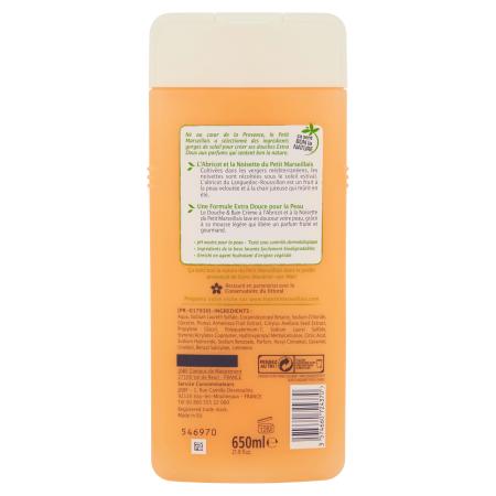Gel Douche & Bain Orange Bio et Pamplemousse, Vue arrière