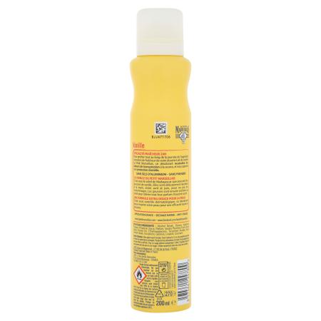 Déodorant spray Extra Doux Vanille Vue arrière