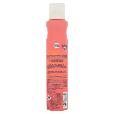 Déodorant spray Extra Doux Pêche Blanche Vue arrière