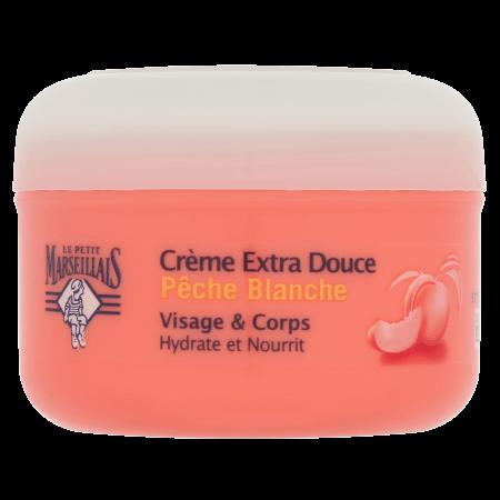 Crème Extra Douce Pêche Blanche Pot