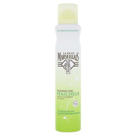 Déodorant spray soin fraîcheur feuilles de thé
