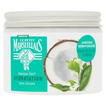 Masque 3-en-1 Hydratation Cheveux Déshydratés
