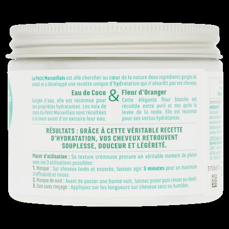 Masque 3-en-1 Hydratation Cheveux Déshydratés vue arrière