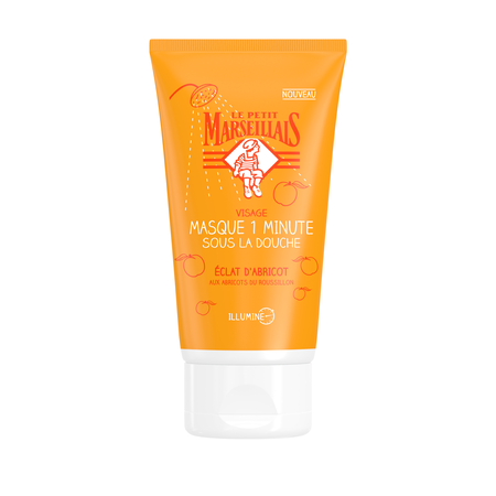 Masque 1 Minute sous la Douche Eclat d'Abricot