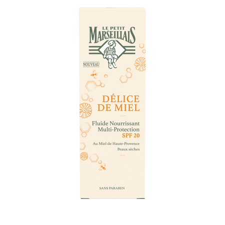 Fluide Nourrissant Multiprotection SPF20 Delice de Miel