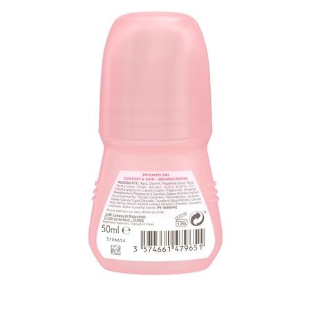 Déodorant Bille Soin Confort Huile de Pétales de Rose & Sauge , Vue arrière