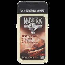 Douche Crème Homme Bois de Santal & Vanille