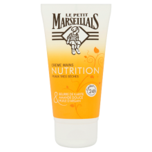 Crème Mains Nutrition Karité, Amande Douce & Argan