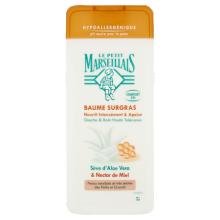 Baume Douche & Bain Surgras Haute Tolérance Sève d'Aloe Vera & Nectar de Miel
