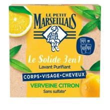 Le Solide 3 en 1 Lavant Purifiant – Verveine Citron