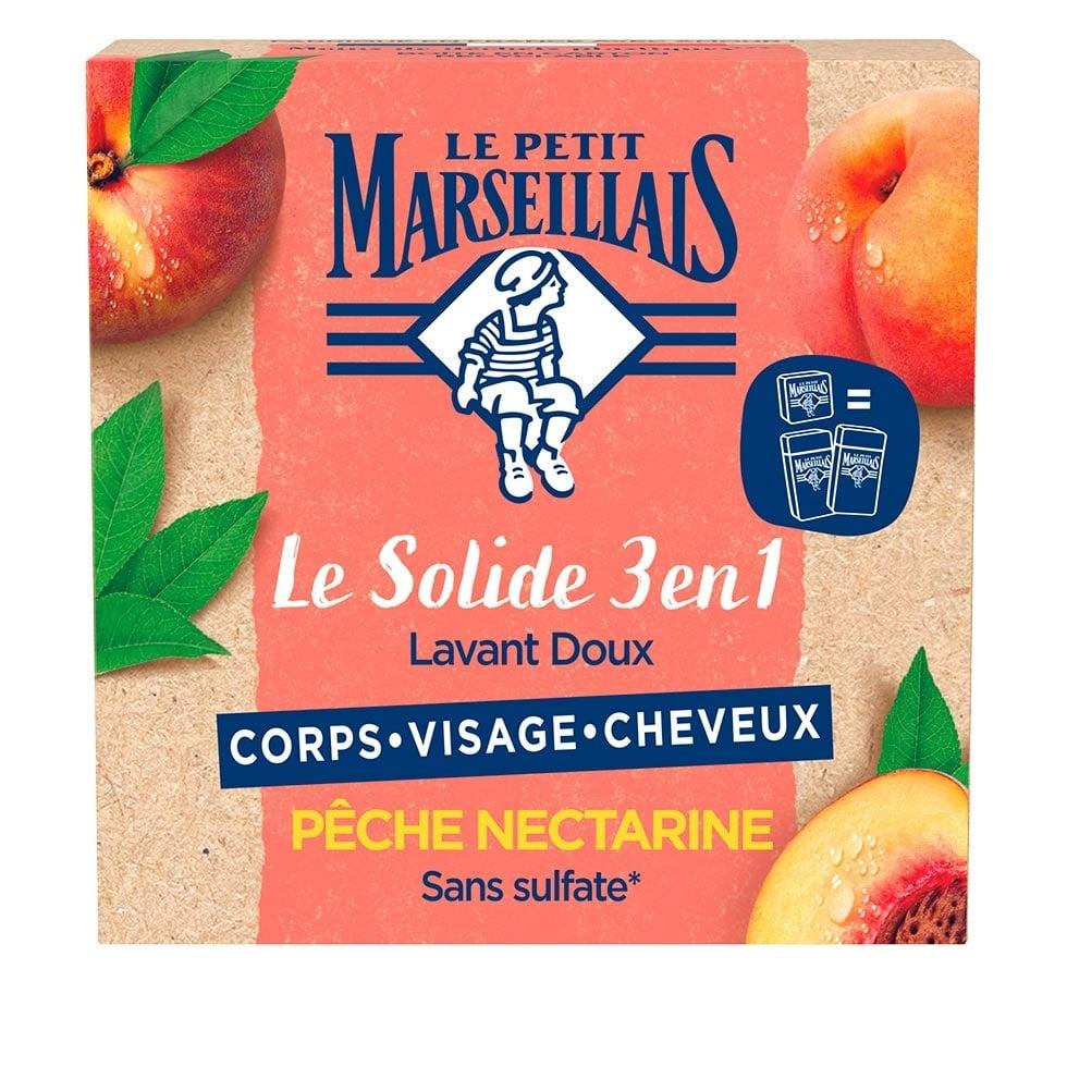 Le Solide 3 en 1 Lavant Doux – Pêche Nectarine
