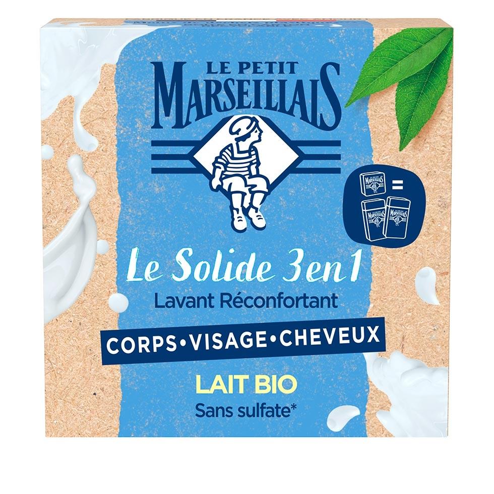 Le Solide 3 en 1 Lavant Réconfortant – Lait Bio