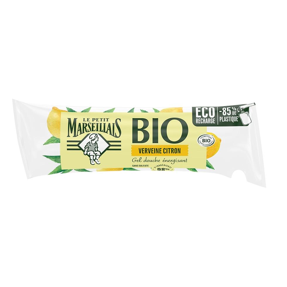 Eco-recharge Gel Douche Bio Verveine Citron