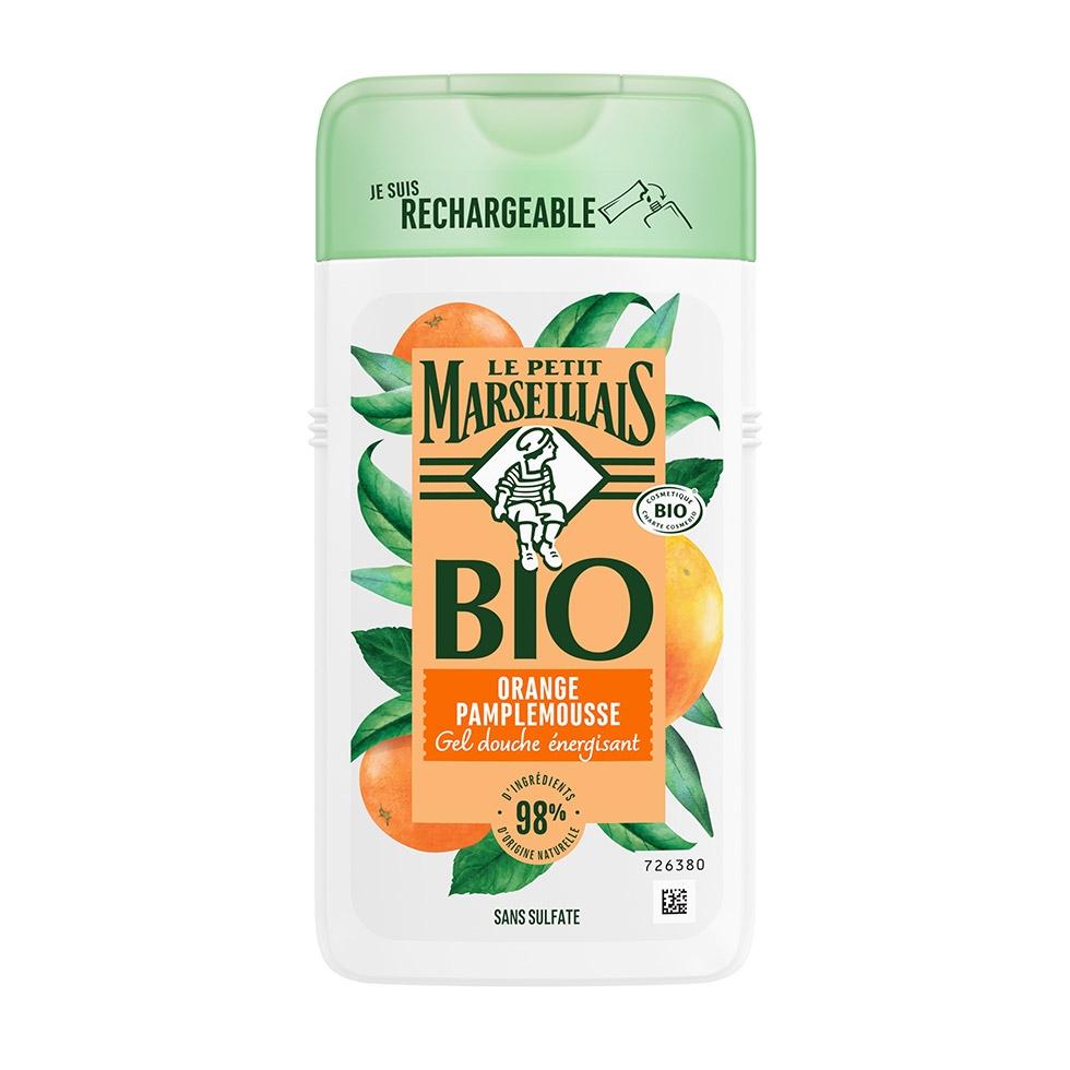 Gel Douche Bio Orange Pamplemousse